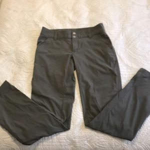 Columbia Light weight hiking pants, size 4.